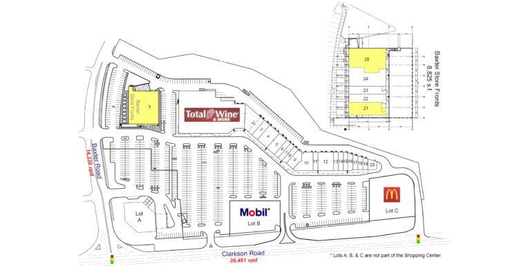 Clarkson Square Site Plan