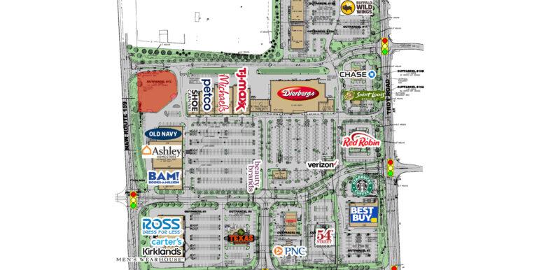 Edwardsville Crossing Site Plan